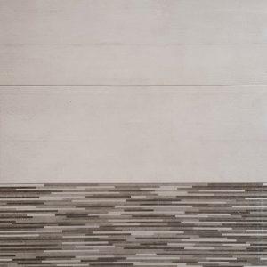 CLOE PERLA+LINEAL RLV GRIS 25X70